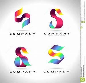 S Letter Logo Design stock illustration. Image of elements ...
