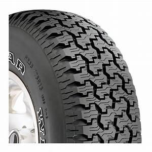 4 goodyear wrangler all terrain at white letter 75r r15 tires for Goodyear white letter tires for sale