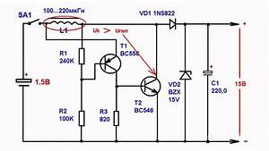Boost Voltage Converter Ranging From 1 5 To 15