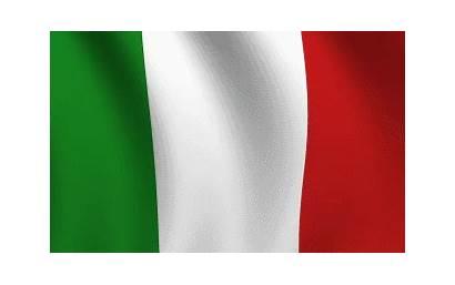 Italy Waving Animated Flag Flags Italian Background