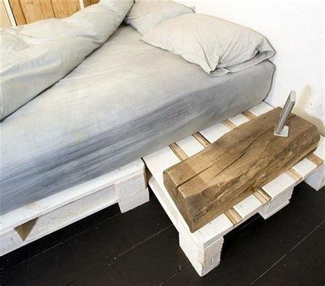Europaletten Bett Bauen  Preisgünstige Diymöbel Im