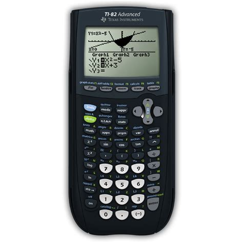 calculatrice graphique bureau en gros instruments ti 82 advanced calculatrice
