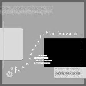 legacy  digital scrapbooking templates simple scrapper