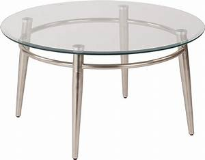 30quot round glass coffee table dynamic office services With 30 inch round glass coffee table