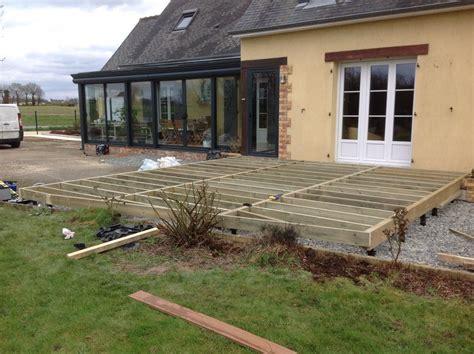 terrasse en bois composite mb creation