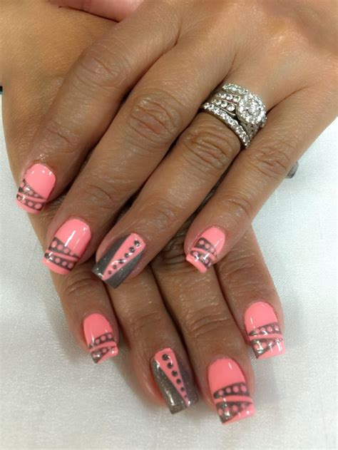 one color nails best 20 two color nails ideas on summer nails