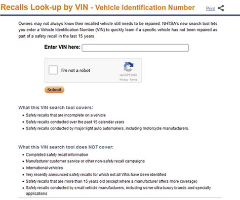Completed Recalls By Vin by The Rocky Recall Road