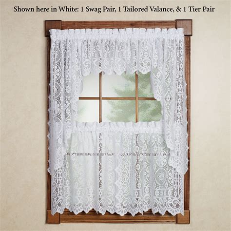 Sears Kitchen Curtains Swags   Home The Honoroak