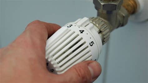 heizung richtig einstellen richtig heizen im winter thermostat einstellen