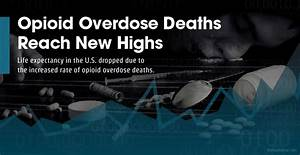 Opioid Overdoses Decrease Life Expectancy In The United States
