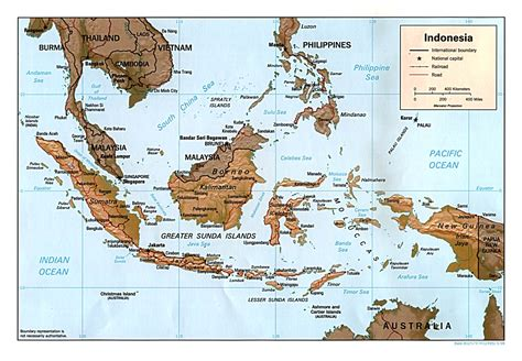 maps  indonesia