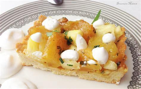 coco cuisine tarte ananas coco estragon blogs de cuisine