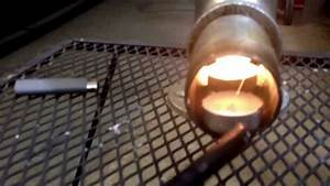 Diy How To Candle Powered Heater Rocket Stove Combination