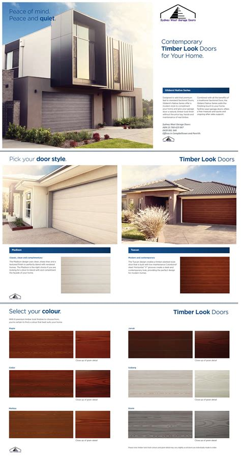 native series sectional garage doors direct garage doors