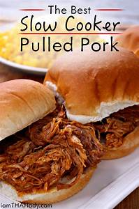 Crockpot Pulled Pork can be just as good as the smoked ...
