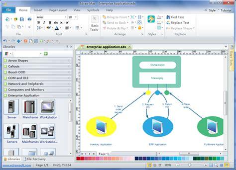 enterprise application diagram visio network diagram template visio get free image
