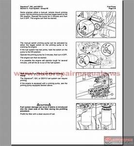 Cummins Isx And Qsx 15 Volmume 2 Service Manual