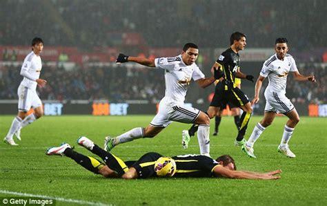 Swansea 1-2 Tottenham: MATCH REPORT | Daily Mail Online