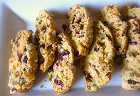 But there are so many different combinations. Cranberry PIstachio Biscotti | Cranberry coffee cake ...