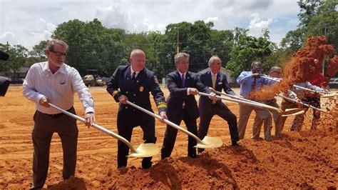 Mobile leaders break ground on Crichton fire station - al.com