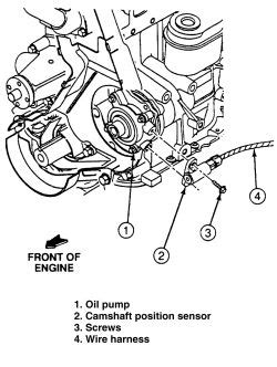 repair guides components systems camshaft position