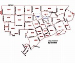 Zip Code Map Of Detroit | Tourist Map Of English