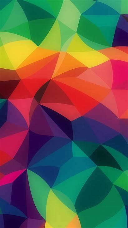 Iphone Abstract Pattern Rainbow Pastel Colors Dark