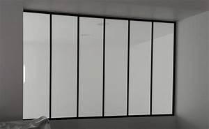 installation verriere d39interieure a plabennec mvm With porte d entrée pvc avec miroir mural inclinable salle de bain