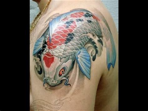 Tatouage Carpe Koï  Force Et Courage  Tattoome Le