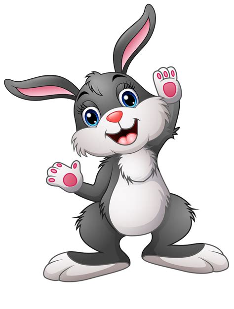 rabbit clipart coloring pages    printable