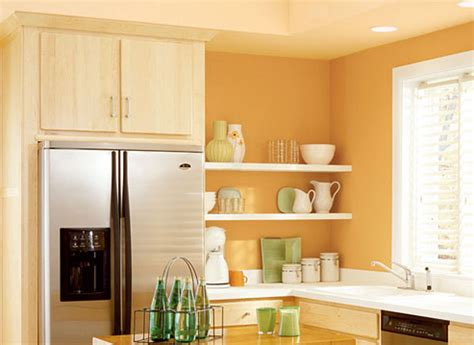 peach colored kitchen cabinets how to paint your walls in a cream kitchen