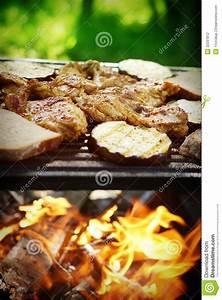 Garden barbecue stock photo. Image of equipment, beef - 32297812