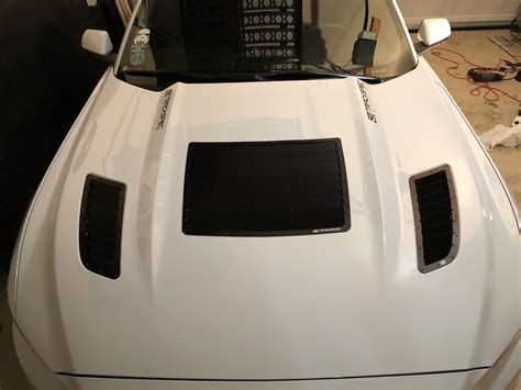 ford mustang ford mustang  hood vents