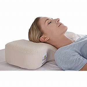 amazoncom therapeutica sleeping pillow average home With ergonomic pillow for neck pain