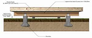 une maison bois sur mesure les fondations popup house With maison bois sur plots 0 fondation pneu homedepaille
