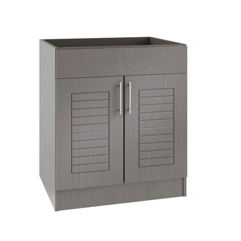 outdoor kitchen sink cabinet weatherstrong assembled 24x34 5x24 in key west open back 3865