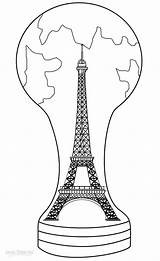 Eiffel Tower Coloring Pages Printable Drawing Cool2bkids France Eifel Paris Theme Towers Visit Getdrawings sketch template