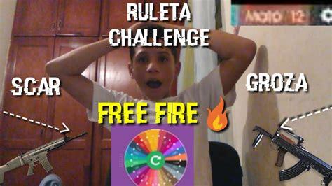 Ruleta magica personaje luqueta free fire 2020