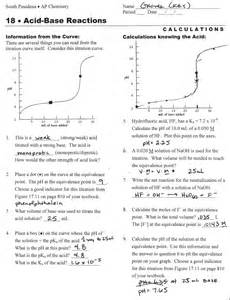 Titrations Practice Worksheet Mrbly Licensed For Non Commercial Use Only Ch 15 Acid Base Equilibria