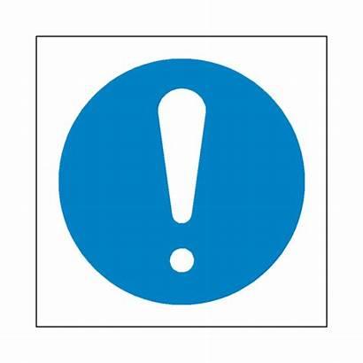 Mandatory Sign Symbol General Safety Label Signs