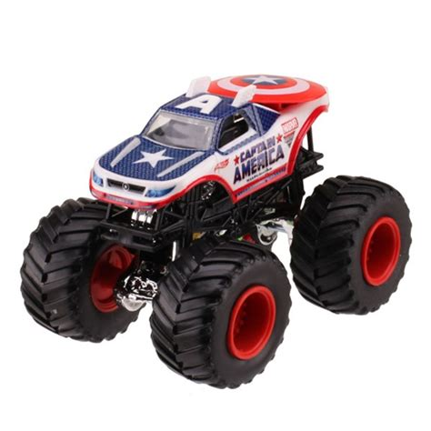 monster jam toys trucks wheels monster jam marvel captain america diecast