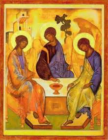 Image result for rublev's trinity images