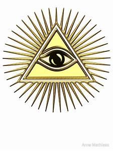 """Eye Of Providence - All Seeing Eye Of God - Symbol"