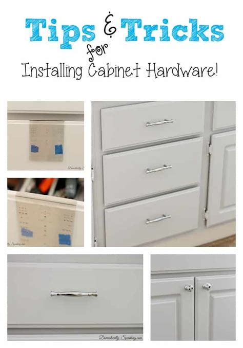 installing kitchen cabinet knobs installing cabinet hardware the easy way domestically 4739