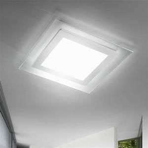 lampada da soffitto design led tecnology Space Antea Luce