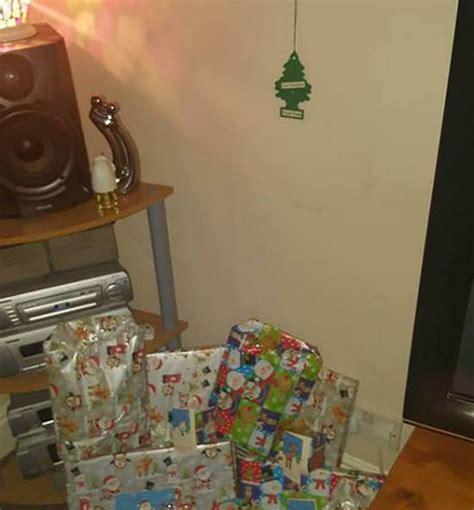 air freshener christmas tree put up by husband metro news