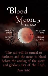 We are approaching the only Blood Moon Tetrad in this ...