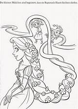 Coloring Tangled Pages Printable Rapunzel Pascal Gothel Flynn Maximus Filminspector Fun sketch template