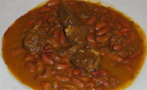 cuisine mexicaine recette soupe de bœuf aux haricots rouges et coco