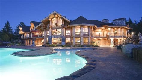 luxury mountain log homes luxury log cabin home log cabin